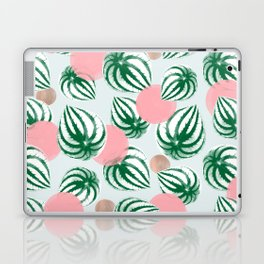 Watermelon Peperomia Pattern Laptop & iPad Skin