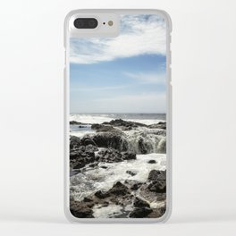 Thor's Well, No. 1 Clear iPhone Case