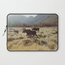 Three Meadow Moose Laptop Sleeve