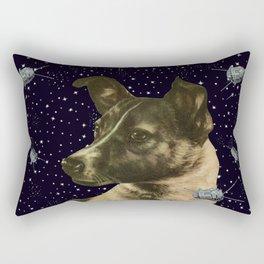Gagarin space art #2 - Laika Rectangular Pillow