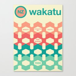wakatu single hop Canvas Print