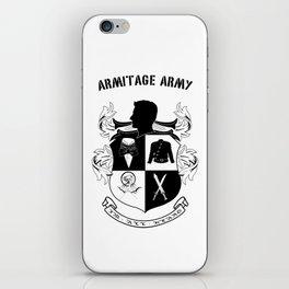 Armitage Army iPhone Skin
