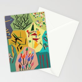 collage play Stationery Cards