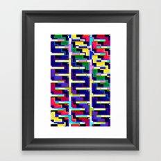 Rainbow Snake Framed Art Print