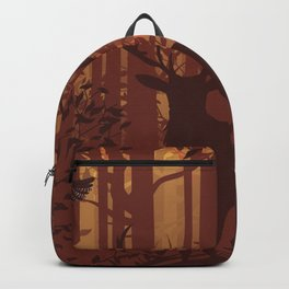 Autumn Deer Backpack