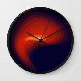 Fire light Wall Clock