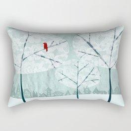Lace Trees Rectangular Pillow
