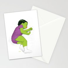 Toddler Hulk SMASH! Stationery Cards