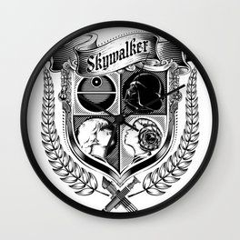 Family Coat of Arms Wall Clock