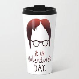 Dwight Schrute Valentine's Day Travel Mug