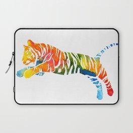 Pouncing Tiger Laptop Sleeve