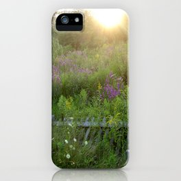 August coming undone iPhone Case