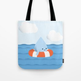 A drop in the ocean Tote Bag
