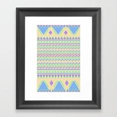 TriangleTraffic Framed Art Print