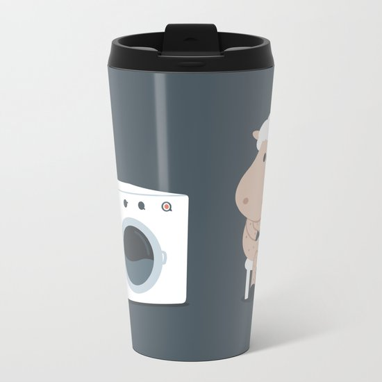 Wool wash Metal Travel Mug