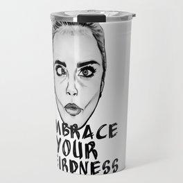 Embrace Your Weirdness Travel Mug