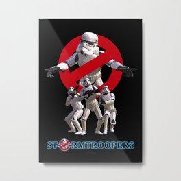 Stormtrooper Busters Metal Print