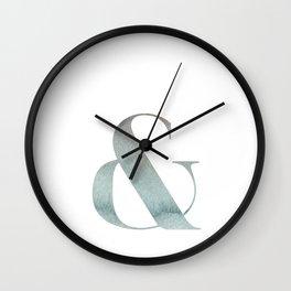 & SEA Wall Clock