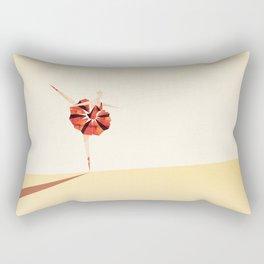 The Ballance ( Girl on fire) Rectangular Pillow