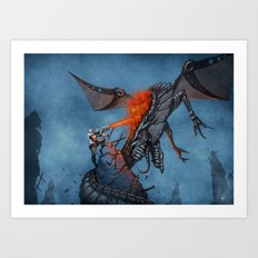 Chasing the Dragon Art Print