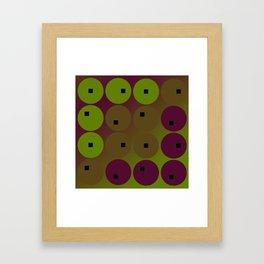 Well Rounded Framed Art Print
