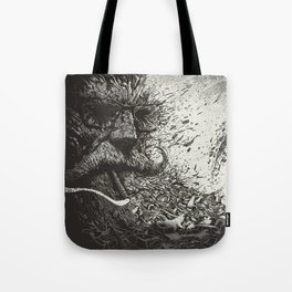 Scourge Of Man Tote Bag