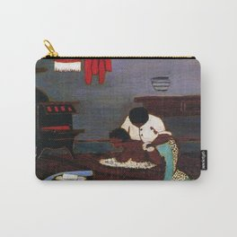 African American Masterpiece 'Saturday Night Bath' by Horace Pippin Carry-All Pouch