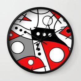 Harlequin Dancer Wall Clock