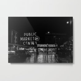 Pike Place Metal Print