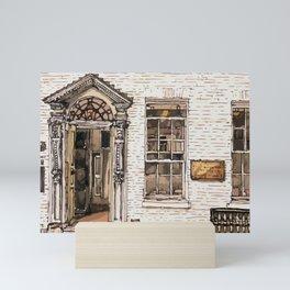 SOLICITORS, Kings Parade, Cambridge, UK Mini Art Print