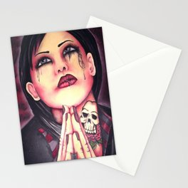 save me  Stationery Cards