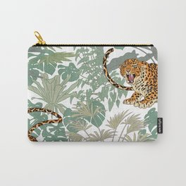 Leopards in the jungle pattern. Carry-All Pouch