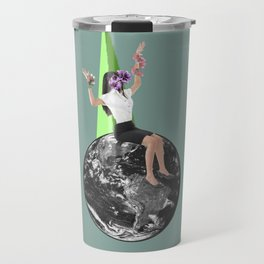 CollageArt :Stranded Travel Mug