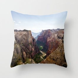 Observation Point Throw Pillow