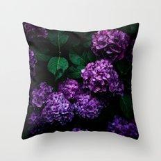 Hydrangea 01 Throw Pillow