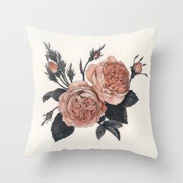 Maura Rose Throw Pillow