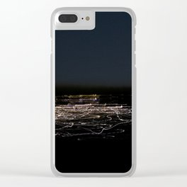 Transposed scenery - Suburb by the lake Clear iPhone Case