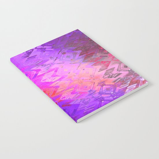 Edged Momentum (purple) Notebook