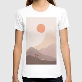 Good Morning Meow 5 - Mount of Japan T-shirt