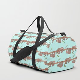 Lazy Baby Sloth Pattern Duffle Bag