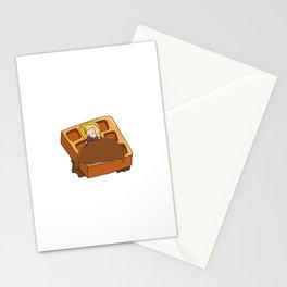 Leslie Knope + Giant Waffle Stationery Cards