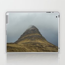 Kirkjufell in Fog Laptop & iPad Skin
