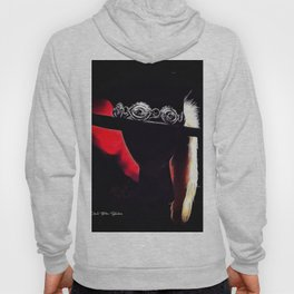 Stevie Ray Vaughan Famous Hat - Red Hoody