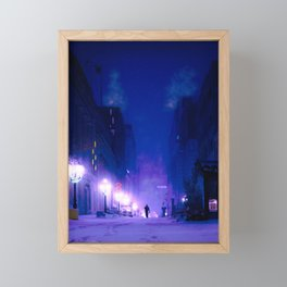 is this how it ends Framed Mini Art Print