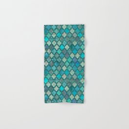 Moroccan Inspired Precious Tile Pattern Hand & Bath Towel