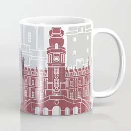 Lublin skyline poster Coffee Mug