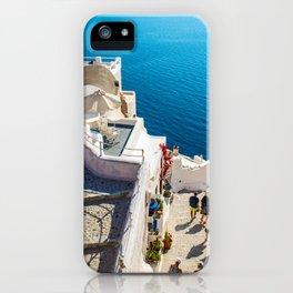 Oia,Santorini iPhone Case
