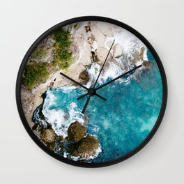 Rocky Sea Wall Clock