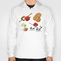 sports Hoodies featuring sports! by Dues Creatius