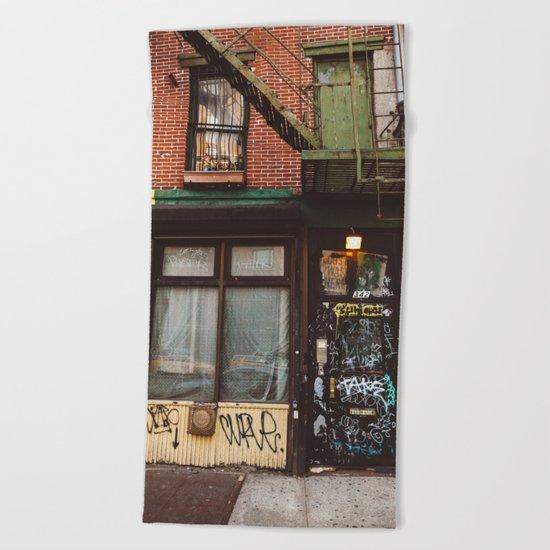 East Village Beach Towel